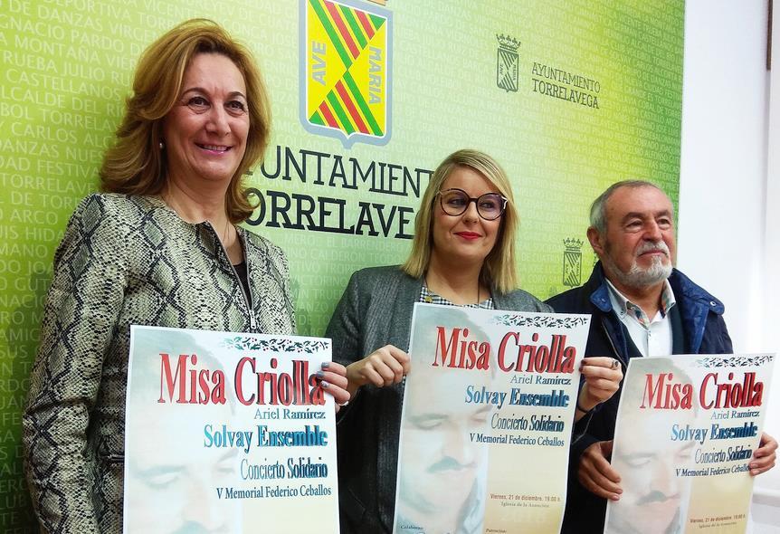 El Coro Solvay Ensemble cantará La Misa Criolla de Ariel Ramírez el 21 de diciembre en la Iglesia de La Asunción