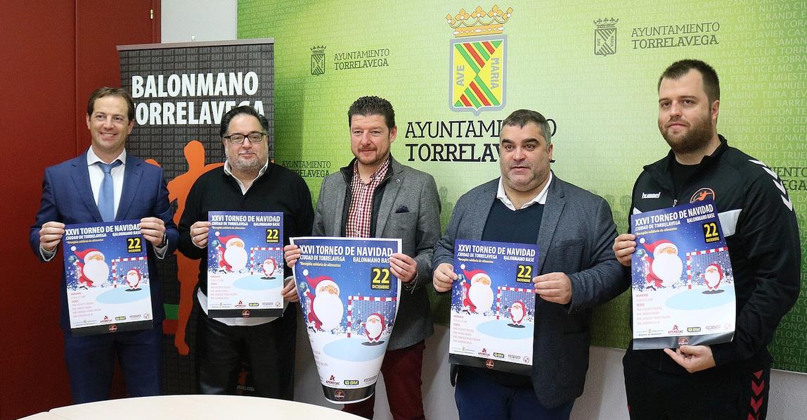 Presentada la XXVI edición del Torneo de Balonmano de Navidad