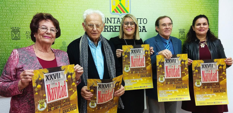 El Concierto de Navidad de la Coral de Torrelavega celebra su XXVII aniversario