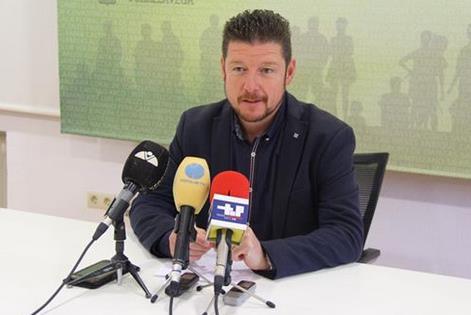 Jesús Sánchez, concejal de Deportes, Ferias y Mercados