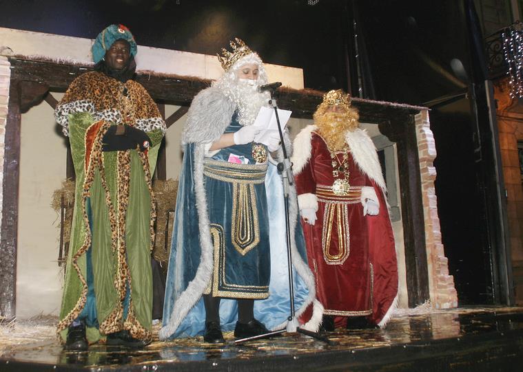 Los Reyes Magos en Torrelavega (Foto de archivo)