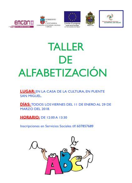 La Mancomunidad Altamira-Los Valles pone en marcha un nuevo taller de alfabetización