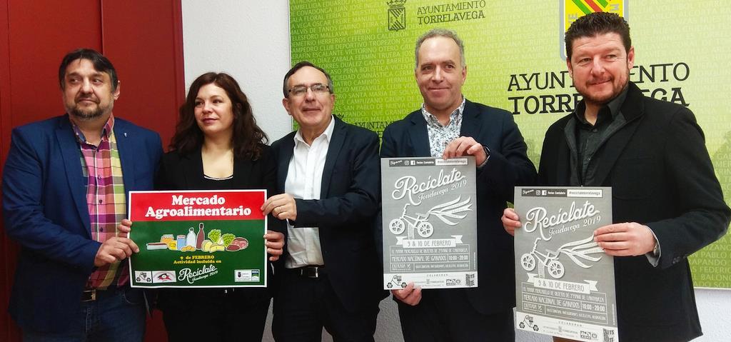 El Mercado Nacional de Ganados de Torrelavega acoge la VII Feria Recíclate el 9 y 10 de febrero