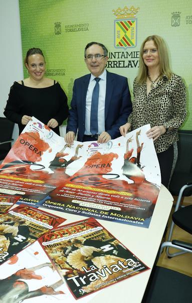 El Teatro Municipal Concha Espina acogerá las óperas Carmen y La Traviata