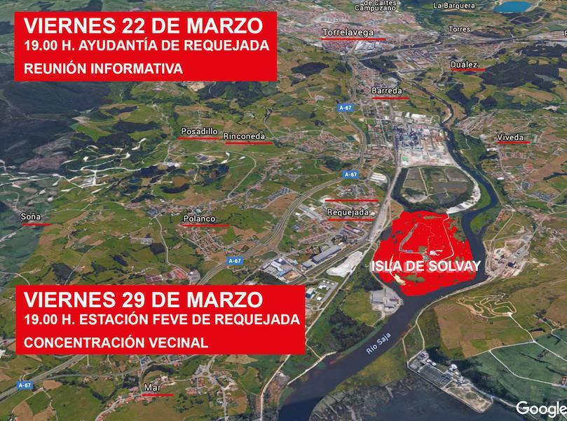 Polanco inicia movilizaciones contra la ubicación de Vuelta Ostrera II en Requejada