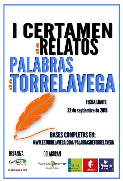 """BASES I Certamen de Relatos """"Palabras de Torrelavega"""""""