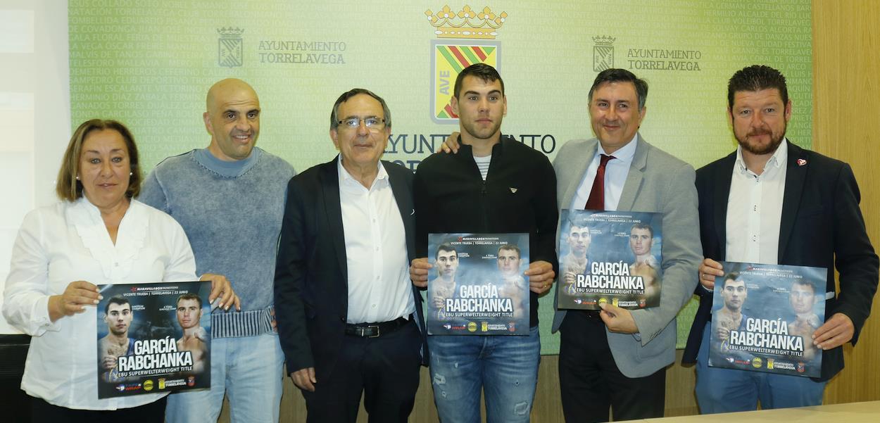 Torrelavega, epicentro mundial del boxeo con el combate de Sergio 'El Niño' García contra Rabchanka el 22 de junio