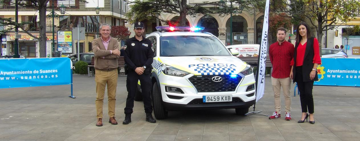 Entregado el nuevo vehículo de la Policía Municipal de Suances