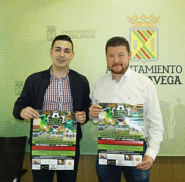 El Complejo Deportivo Óscar Freire acogerá el III Campus Ciudad de Torrelavega