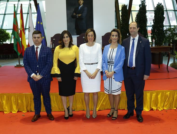 Por el PP: Marta Fernández Teijeiro; Joaquín Fernández Berjano; Miguel Ángel Vargas; Olga Quintanilla; Lucía montes