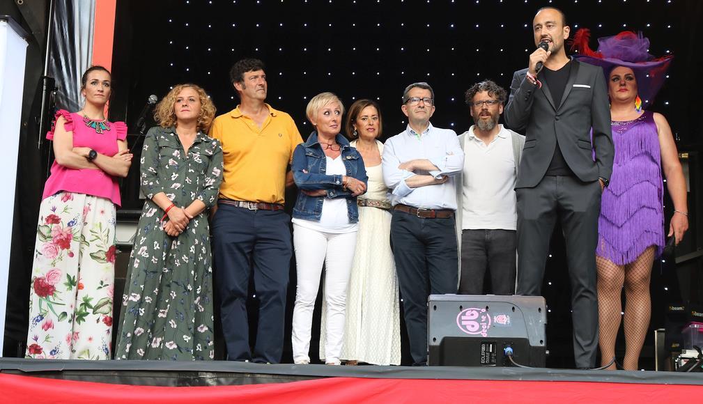 El Alcalde Javier López Estrada, pregonero de la V edición de la fiesta del Orgullo Gay