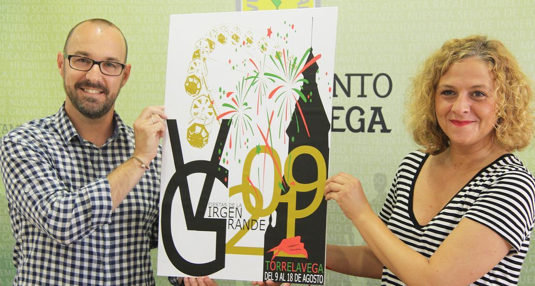 'Coloreando nuestra ciudad', del torrelaveguense Sergio Argos, será el cartel de las Fiestas de la Virgen Grande 2019