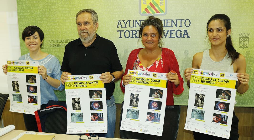 """El CNFOTO acogerá la exposición Agosfotográfico 2019 """"Cinco formas de contar cinco historias"""""""