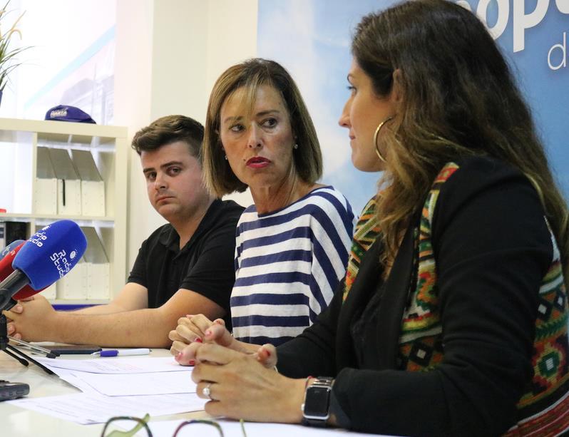 Miguel Ángel Vargas, Marta Fernández-Teijeiro y Olga Quintanilla