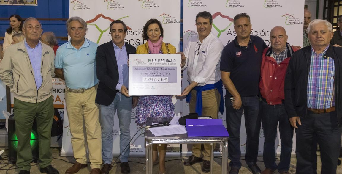 """Amigos de Torrelavega entregó los premios del IV """"Birle Solidario"""""""