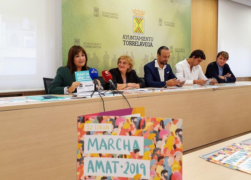 Presentada la 32ª Marcha AMAT bajo el lema '#más que una marcha'