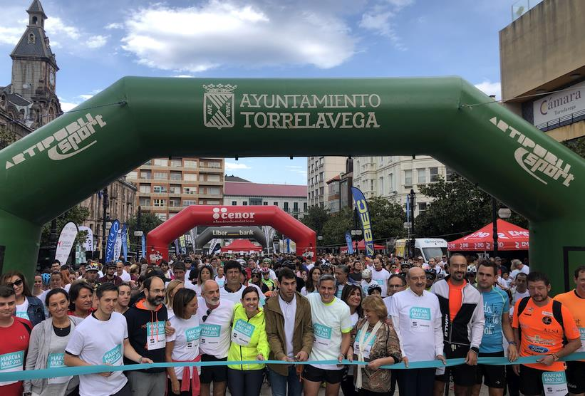 Éxito de la XXXII marcha popular AMAT contra las drogas, con miles de participantes