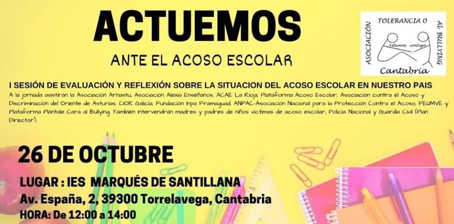 Torrelavega acogerá un encuentro nacional sobre acoso escolar