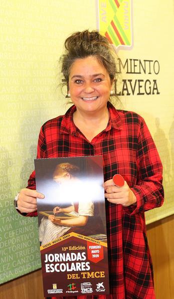 Esther Vélez, concejala de Educación y Cultura