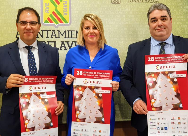 Presentado el 28º Concurso de Escaparates Navidad 2019 de Torrelavega