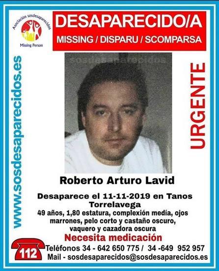 Se busca a un hombre desaparecido en Tanos