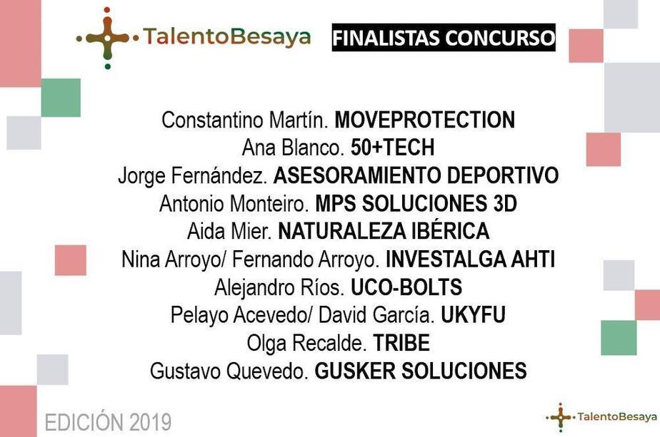 Fase final del Certamen +Talento Besaya