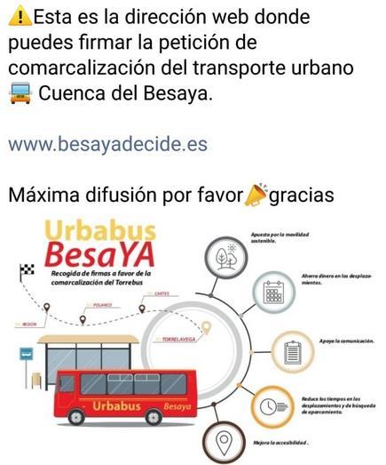 Lanzan una web para recoger firmas para la comarcalización del Torrebús