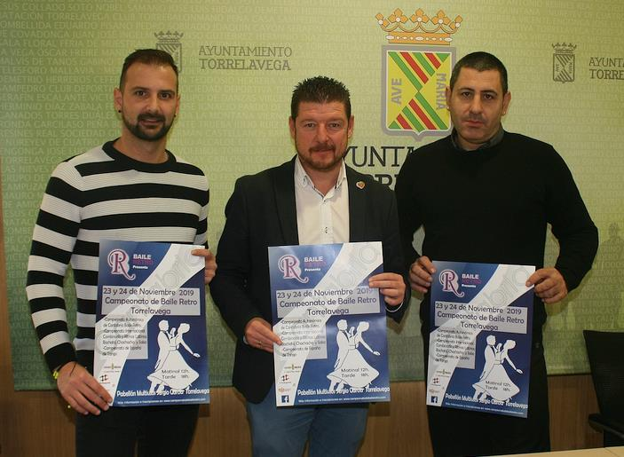 El Pabellón Multiusos Sergio García acogerá el Campeonato de Baile Retro Torrelavega