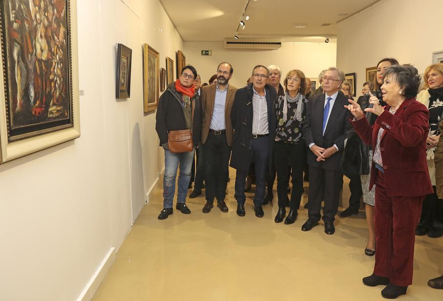La Casa de Cultura de Torrelavega acoge desde hoy una nueva exposición temporal sobre Eduardo Pisano