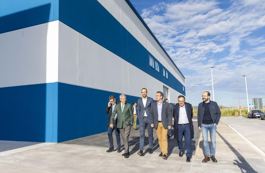 Torrelavega cuenta con ocho nuevas naves en el polígono de Tanos-Viérnoles (Foto: Gobierno de Cantabria)