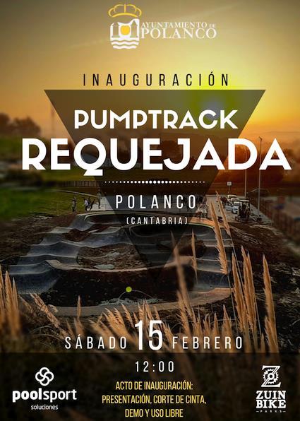 Este sábado se inaugura la pista de Pump Track de Requejada