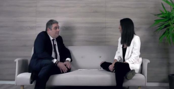 En la imagen José Luis Quintanilla entrevistado en el canal de Cámara Torrelavega en YouTube