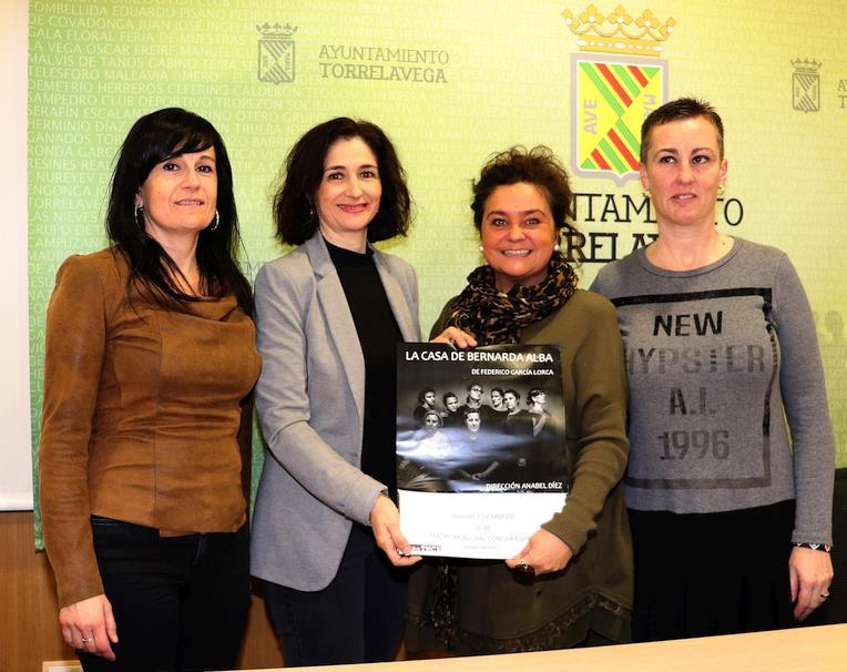 """""""La casa de Bernarda Alba"""" se representará en el marco del Día Internacional de la Mujer"""