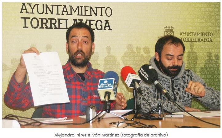 Alejandro Pérez e Iván Martínez (ACPT) en una imagen de archivo