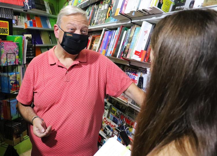 Julián Crespo (Librería Virgen Grande) - (C) Foto: David Laguillo