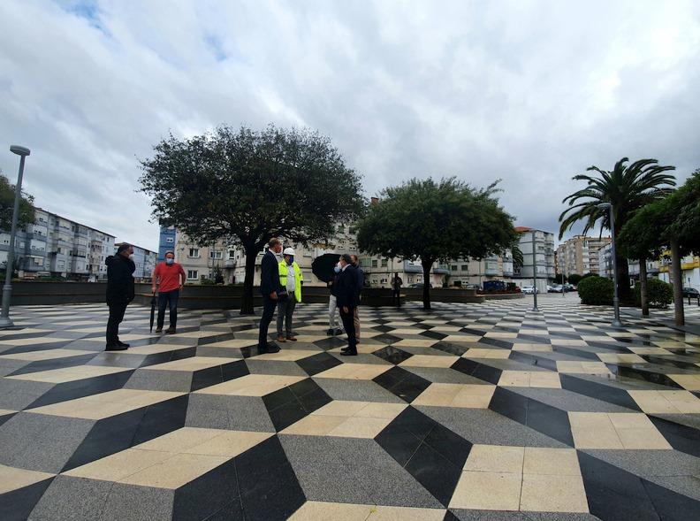 Finalizada la remodelación de la Plaza Covadonga