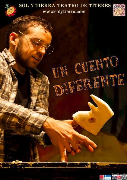 Teatro de títeres solidario 'Un Cuento Diferente' el sábado 25 de septiembre en el IES Marqués de Santillana
